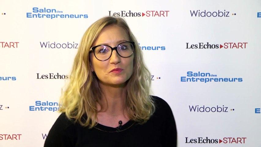 Pitch de Start-Up - Edwina Girard - Fondatrice MamieBoom.fr