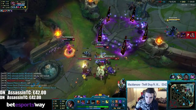 Gross Gore amazing Triple kill Hello guys, this is Gross Gore. League of Legends
