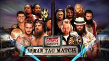 Daniel Bryan, CM Punk, Rhodes Brothers & The Usos vs The Shield & The Wyatt Family | Raw Latino