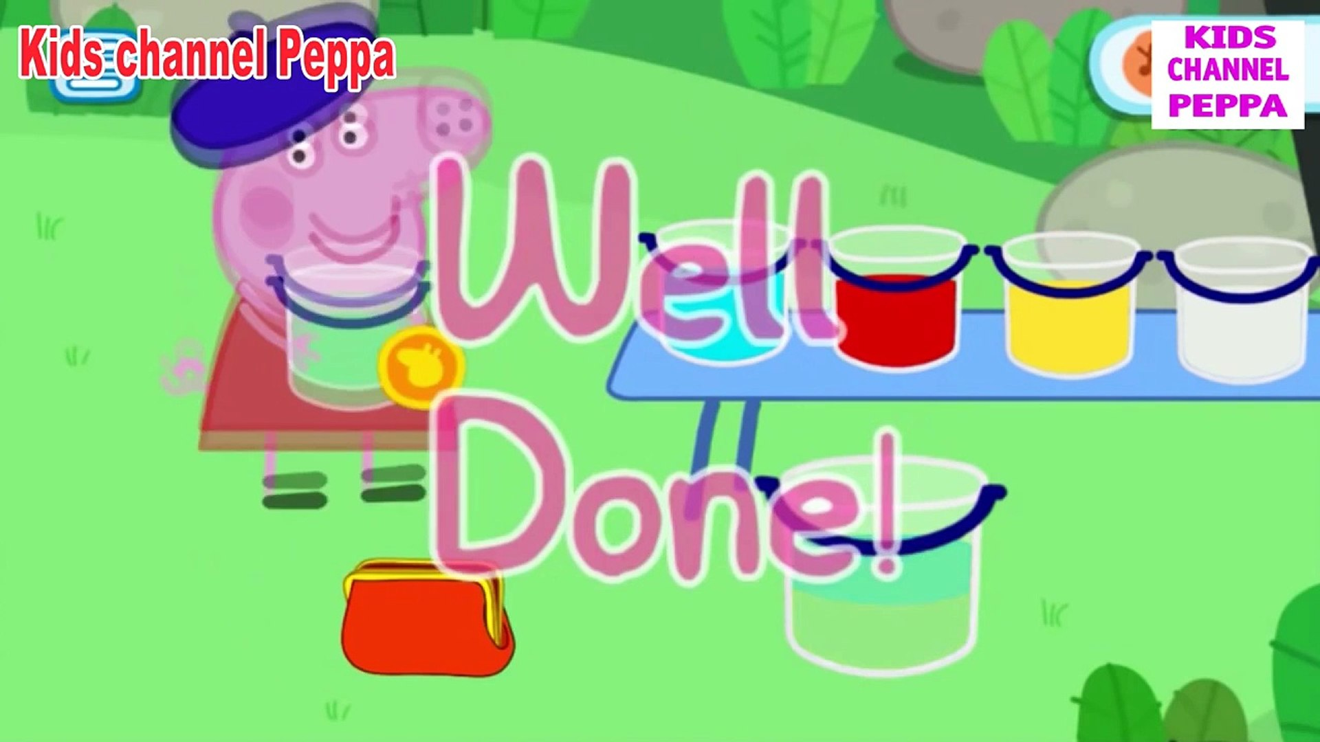 Свинка Пеппа - Цвета - Peppa Pig