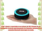 Andoer® Altavoz Estéreo Portátil al Aire Libre 5W Inalámbrico Bluetooth 3.0 con Micrófono Manos