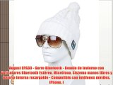 August EPA30 - Gorro Bluetooth - Beanie de invierno con Auriculares Bluetooth Estéreo Micrófono