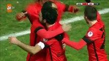 Akhisar Belediyespor:1 - Galatasaray:2 | Gol: Selçuk İnan (Trend Videos)