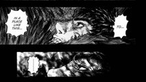 Review: Berserk ベルセルク Chapter 327- Darkness in the Beast,Guts Gets Rescued