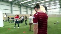New West Ham United kit 2014 15 Revealed Behind the scenes