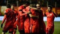 Akhisar Galatasaray Maçı 1-2 Maçın Golleri 10.02.2016 Ziraat Türkiye Kupası maçı