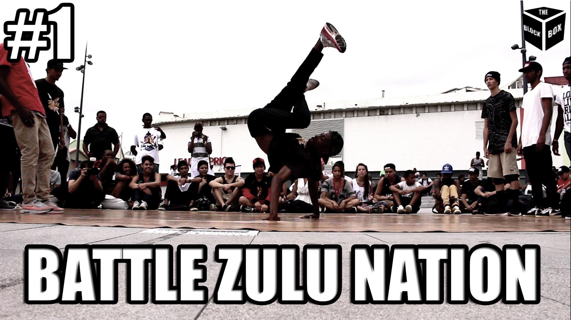 BATTLE BREAKDANCE ZULU NATION : Skandal Zulu Kidz vs Brigands Crew - Par BlockBox Studio