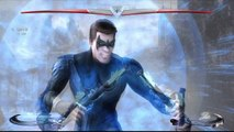 Injustice: Gods Among Us 【PS4】 - ✪ Nightwing Vs Zatanna ✪ | Classic Battles HD