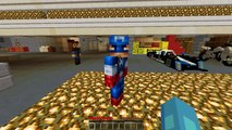 Minecraft PRISON BREAK - CAPTAIN AMERICA BREAKS THE LAW!! w/The Minevengers