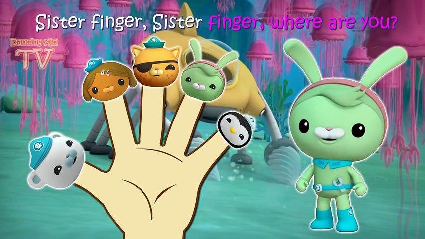 Octonauts Finger Family / Nursery Rhymes