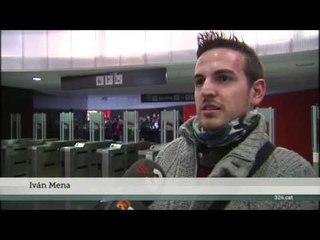 TV3 - Telenotícies migdia - Proves d'estrès a la Línia 9