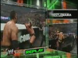 The Rock Vs HHH Vs Mick Foley Vs The Big Show (WM 16 2-5)