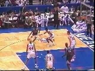 NBA Basketball Shaq Breaks Basket