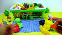 Свинка Пеппа ее друзья корзинка для пикника Видео для детей Peppa pig and her friends