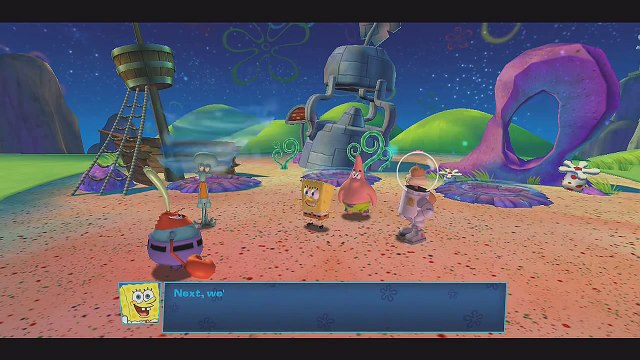 SpongeBob SquarePants: Planktons Robotic Revenge - Dutchmans Triangle (Shipwreck Reef) - PART 1