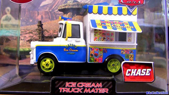 Ice Cream Truck Mater Cars 2 Chase Edition Diecast Maters Ice-Cream n Treats 2013 Disney Store
