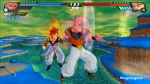 Omega Shenron and Super Buu Fusion VS Gogeta SSJ4 in Dragon Ball Z Budokai Tenkaichi 3 (Mod)