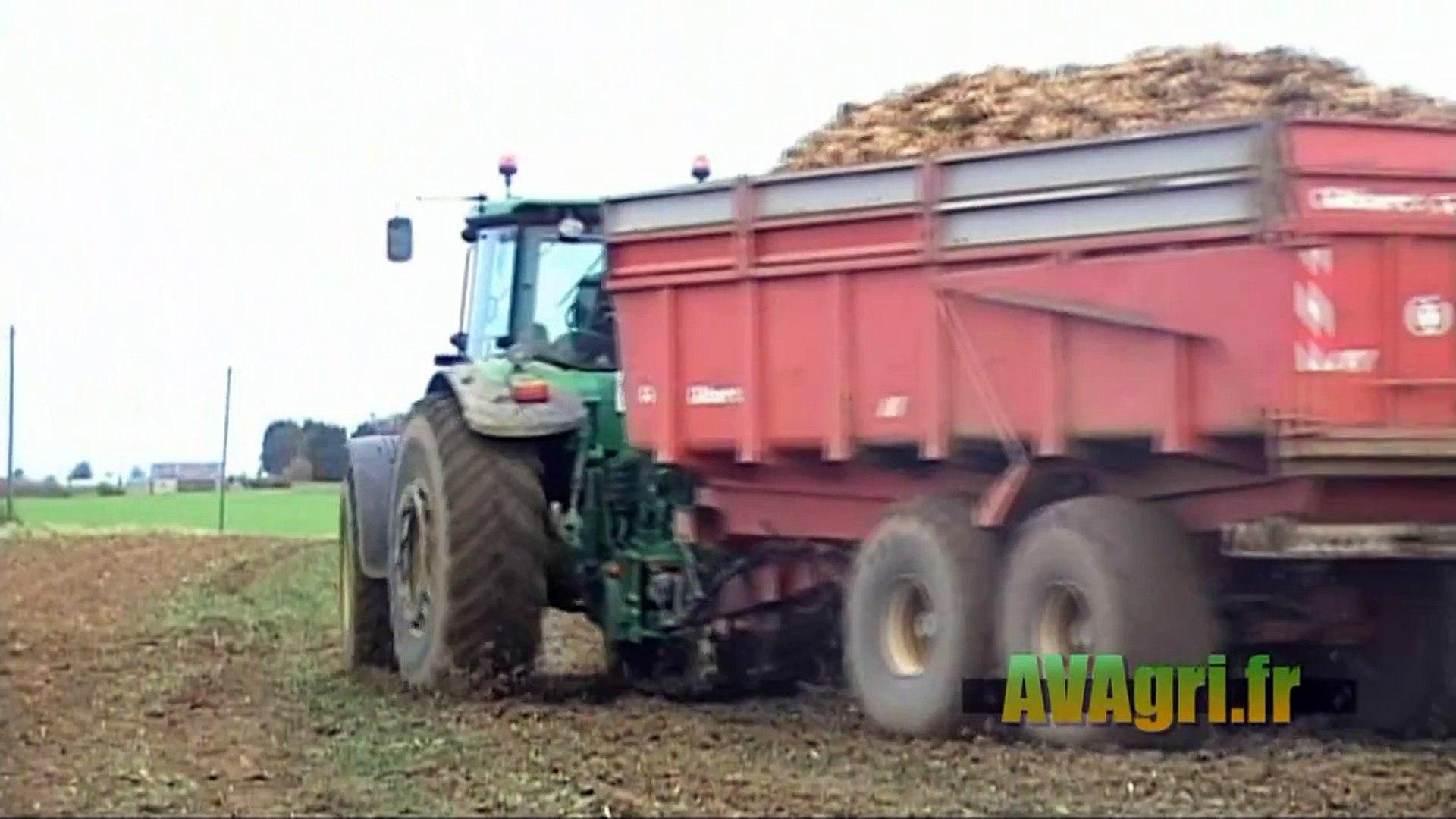VERVAET Beet Eater 617 à larrachage des betteraves en 2010