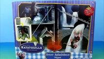 Disney Pixar Ratatouille Sewer Splashdown Playset with Django Father of Remy King of the Rats