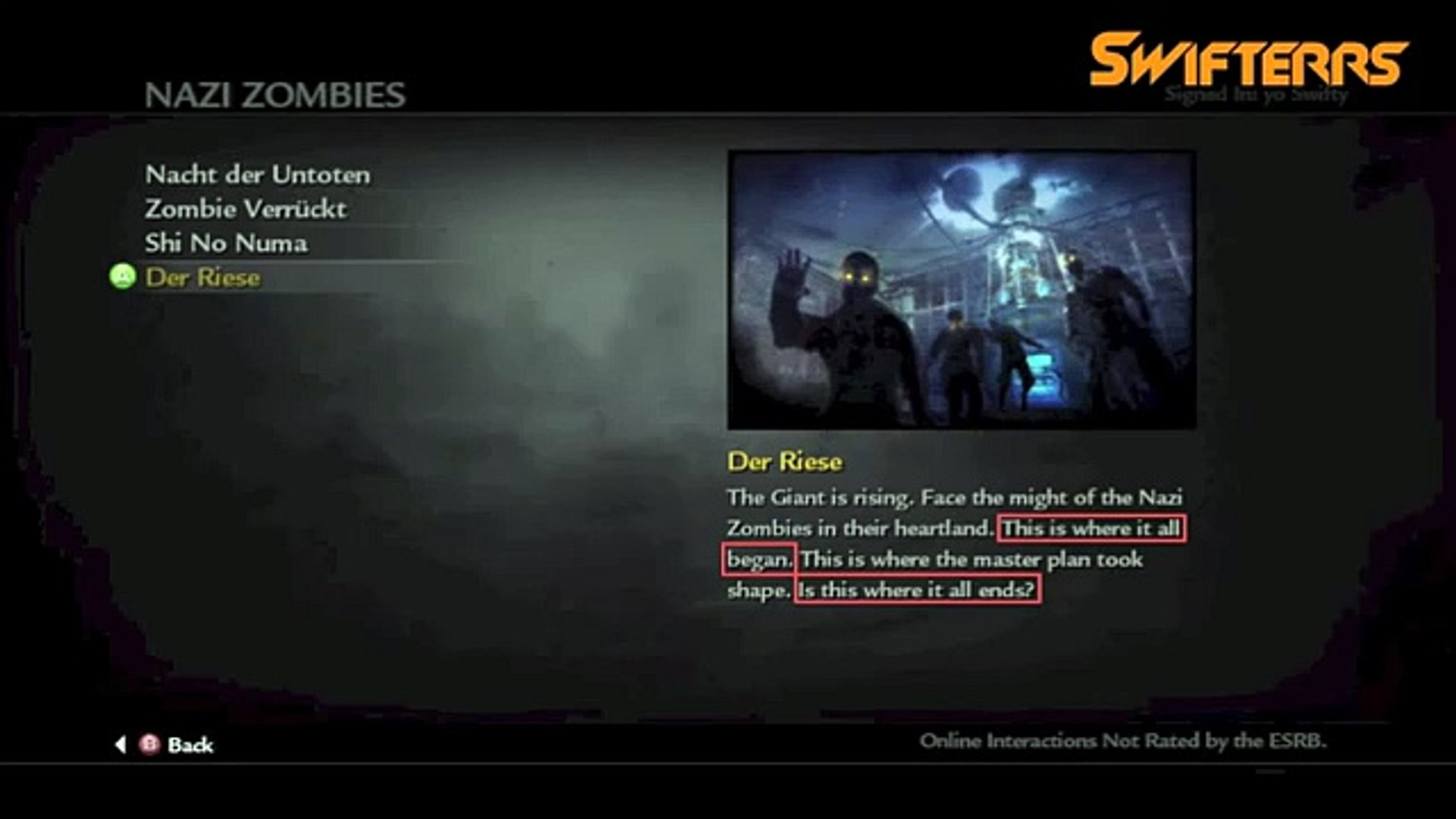 Black Ops 2 Zombies DLC MAP PACK 4 RETURNING TO DER RIESE ... on black ops moon map gameplay, call of duty black ops 2 zombies pack, black ops der riese wallpaper, black ops rezurrection,