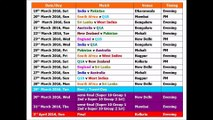 2020 World Cup T20 Time Table.How To Download T20 World Cup 2016 Schedule Fixtures Time
