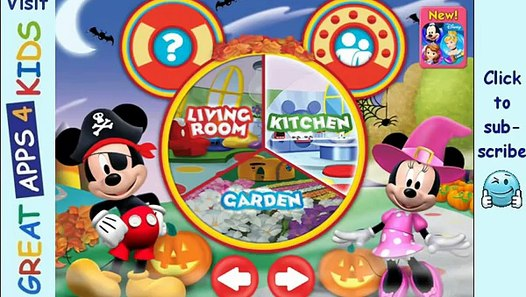Mickey Mouse Clubhouse Color and Play (Halloween Theme ...