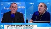 """Thierry Ardisson : """"Je n'ai pas refusé France 3 ou TF1, j'ai accepté Canal"""""""