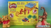 Pâte à modeler Play Doh Winnie lourson Le pique nique de Winnie et ses amis Pooh 'N Frien