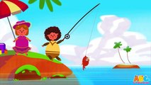 12345 Once I Caught A Fish Alive! | English Nursery Rhymes | HD Version