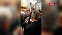 Emmanuel Macron avec Jean-Claude Mailly au Salon de l'agriculture