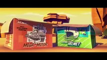 Roadrunner & Wile E Coyote CGI fur of flying with Funniest Cartoon Sound FX NEW 2014
