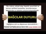 Bağcılar İstanbul su deposu temizliği ve izolasyonu TEKDEZ