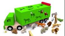 Apprendre les animaux sauvages en français. Vidéos éducatives dessins animés pour bébé. Learn French  Dessins Animés Pour Enfants