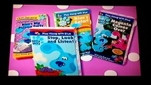 Opening to Blues Clues: Blues Big Musical Movie 2000 VHS (Blue Tape Version)