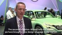 Interview with Christian Strube, SKODA Board member for Technical development at Geneva Motor Show 2016