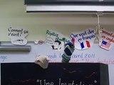"""French I Class Puppet Show """"La Spectacle des Marionnettes"""""""