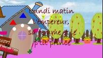 """""""Lundi matin """"- Comptines et chansons,en dessin animé, pour enfants.  Dessins Animés En Français"""