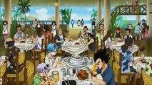 Dragon Ball Super- Vegeta & Trunks Eating Contest
