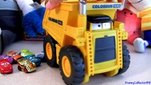 Cars 2 Watch Colossus Eating Micro Drifters Cars for Lunch XXL Chomping Dump Truck Disney cars-toys