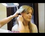 Semi permanent make up, Haare Strichen, Tätowierten Augenbrauen, Vor und Nach