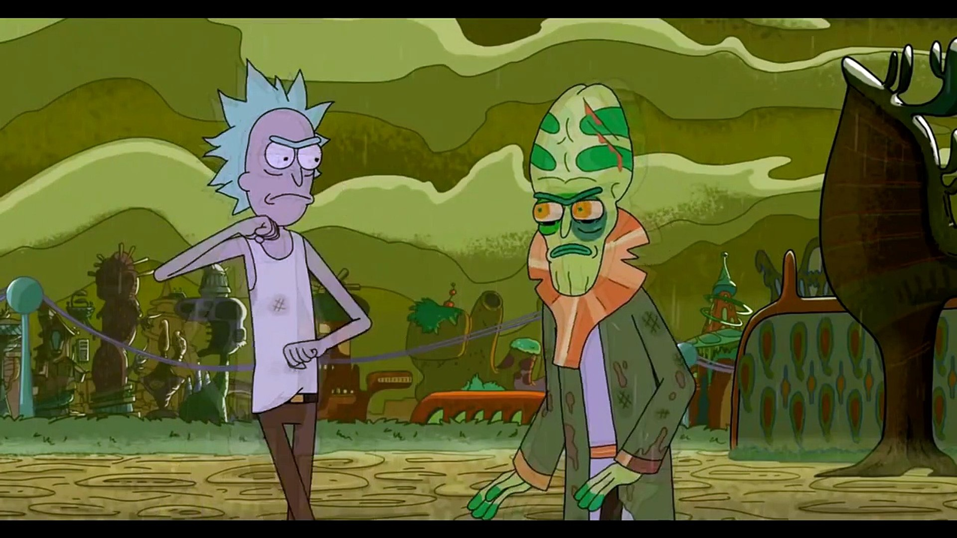 Rick And Morty Rick Vs Zeep Video Dailymotion