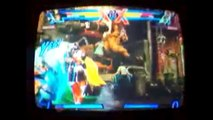 Me Playing Ultimate Marvel Vs. Capcom 3-Lossing 2 Characters to Akuma and Nearly lossing Online
