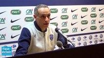 Coupe de France : la réaction des entraîneurs après le match Estac Saint-Etienne