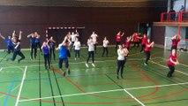 Flashmob Euro 2016 - Lycée Simone Weil & Fauriel (42)