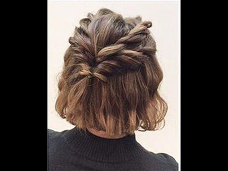 МК - простая прическа на короткие волосы --- Master Class - a simple hairstyle for short hair