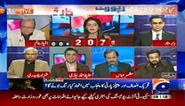 Saleem Safi is Fighting With Ayesha Baksh in a Live Show