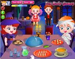BABY HAZEL have a Halloween party with her friends