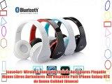 icase4u® Wireless Bluetooth Estéreo Auriculares Plegable Manos Libres Auriculares con Micphone