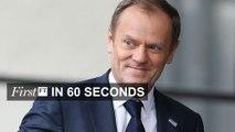 FirstFT - Tusk warns on EU referenda, Syrian war toll