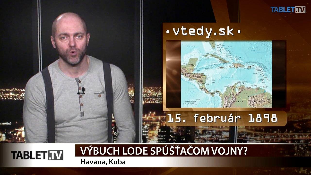 Stalo sa VTEDY: Výbuch lode a kanadská vlajka